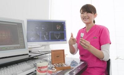 CAD/CAMを使った精度の高い歯を